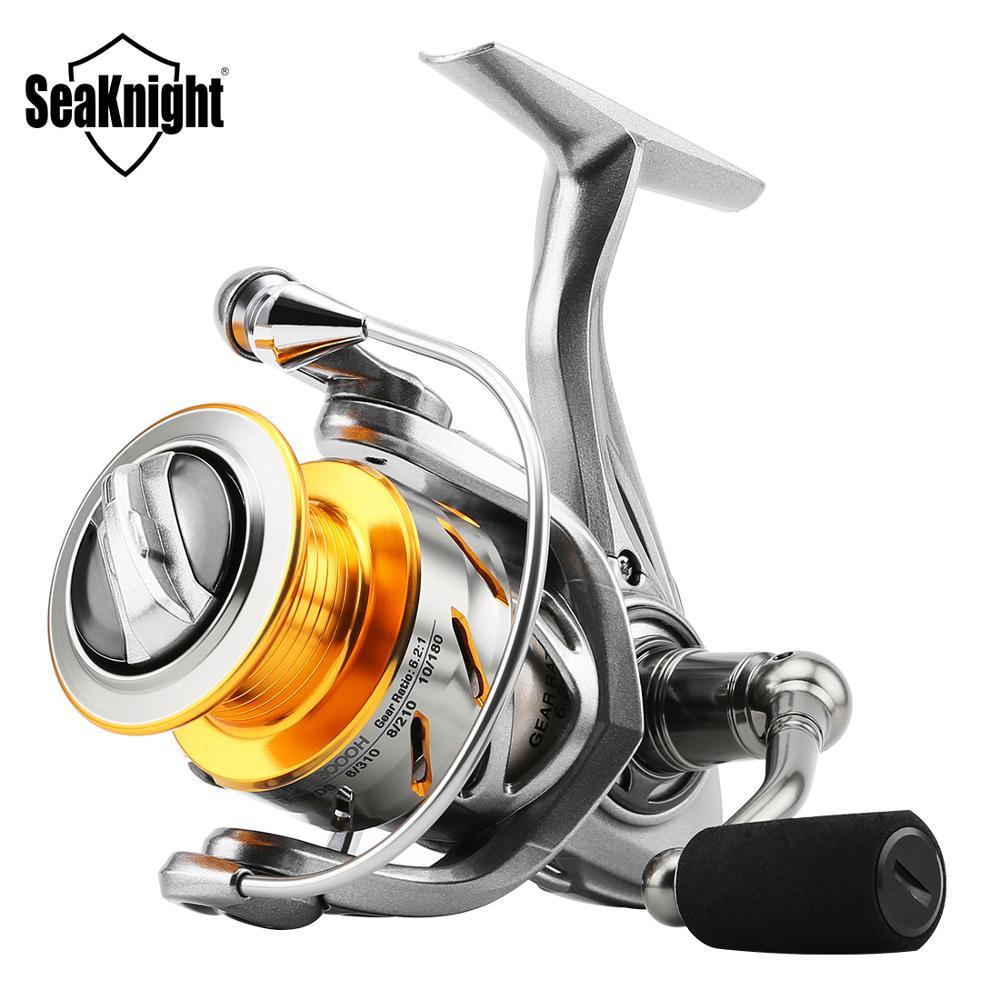 SeaKnight RAPID 6,2: 1 4,7: 1 anticorrosión 2000H 3000H 4000H 5000 6000 carrete de pesca giratorio 11BB Rueda de carrete de pesca de agua salada