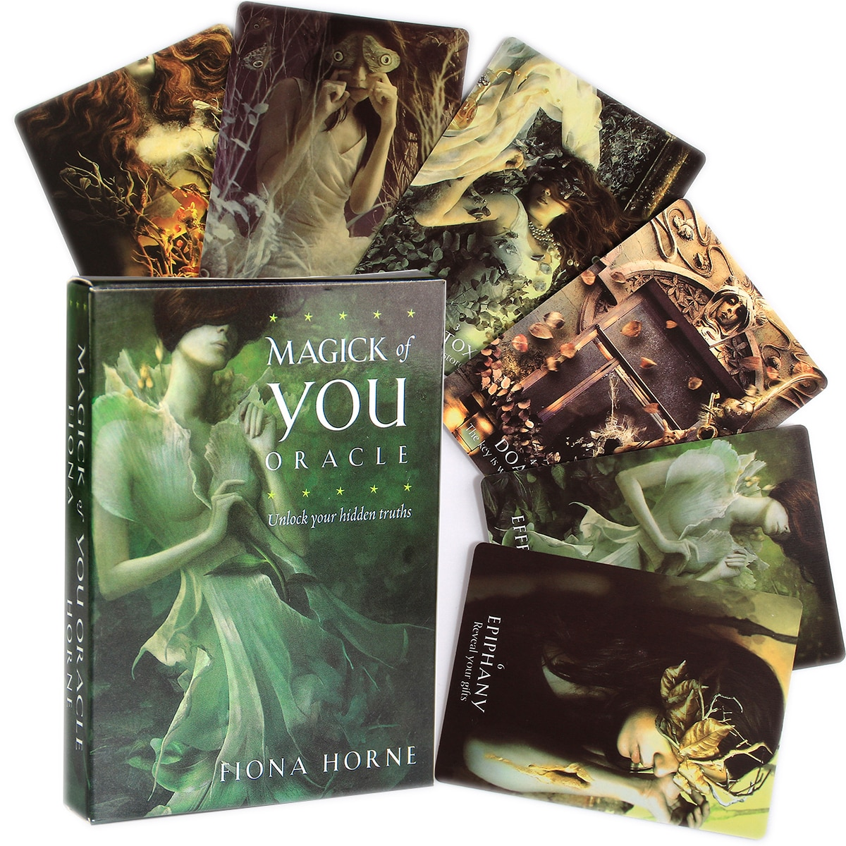 Magick Of You Oracle Unlock Your Hidden Truths Oracle Deck Card Game Friend Party Board Game Divination Fate Tarot Cards