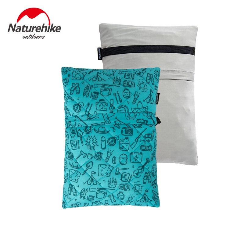Naturehike viaje al aire libre esponja almohada ultraligero plegable Coche Oficina cintura cojín almuerzo descanso cómodo sofá almohada