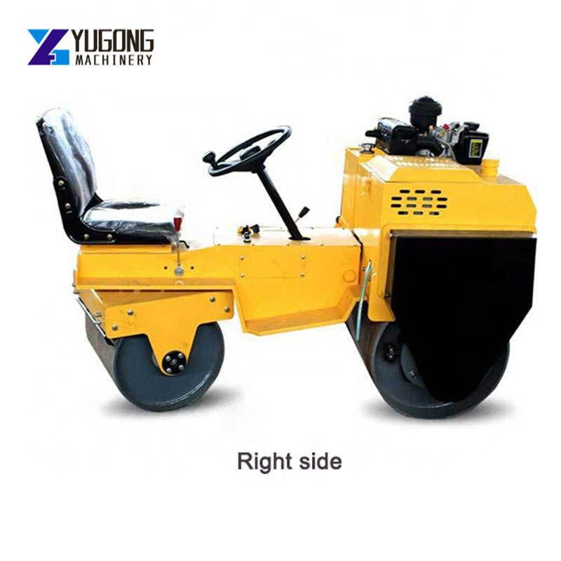 CE Diesel Engine Double Drum Ride on Road Roller Compactor Machine  Construction Tools  Garbage Compactor Road Compactor Machine