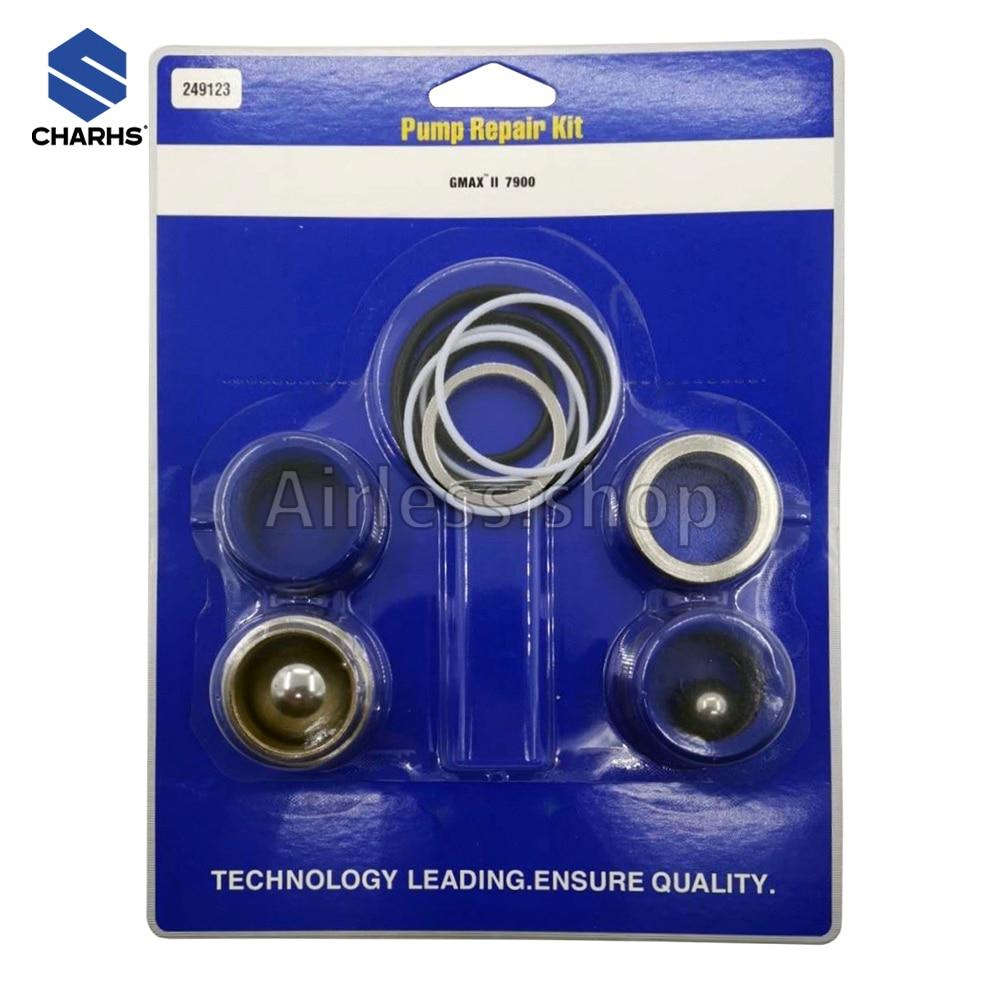 Airless Sprayers Pump Repair Kit 244194/248212/248213/249123/244199 Pump Sealing fits Airless sprayer 390 695 795 1095 5900 7900 недорого