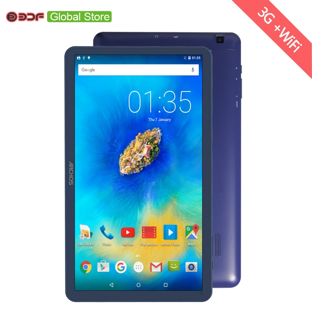 3G + WiFi Version 10 Inch Tablet PC Android 5.1 Quad Core 1GB RAM+16GB ROM FM Radio WiFi Bluetooth SIM card Call