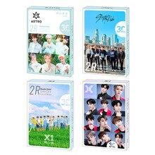 30 pièces/ensemble Kpop stray enfants Double impression signture photocarte haute qualité deux fois X1 ASTRO BLACKPINK album affiche kpop lomo carte
