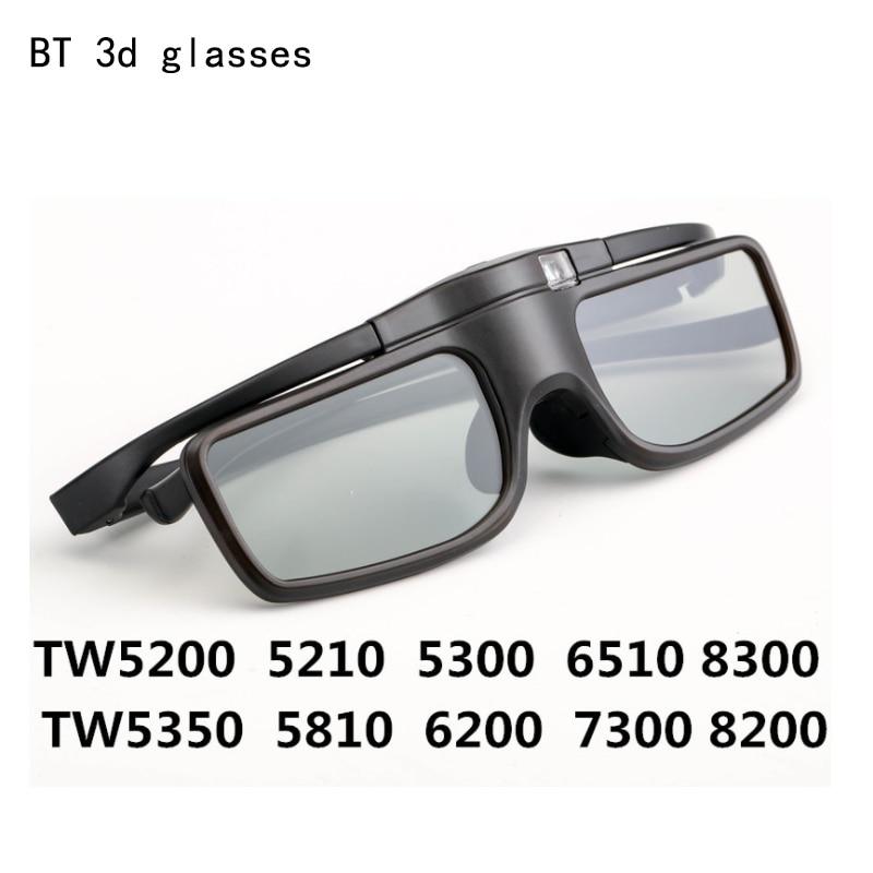 Gafas con obturador 3D, lentes con Bluetooth, para Epson, cine en casa,...