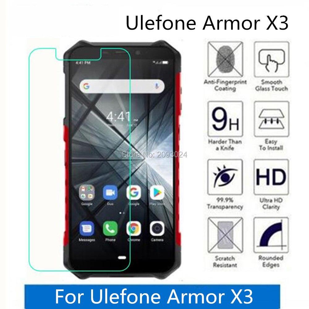 Tempered Glass For Ulefone Armor X3 2.5D Premium Screen Protector Film On For Ulefone Armor X3 Protective Film Glass