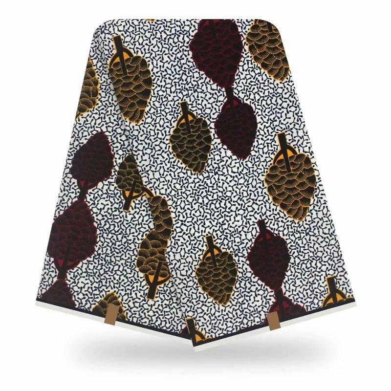 2020 Fashion Dashikiage Pagne Ankara Veritable Real Wax Cotton Fabric For Women Evening Dress tissu africain motif wax