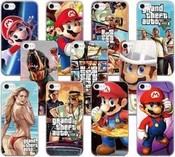 Grand Theft Auto Marios Мягкий ТПУ чехол для телефона Funda для Alcatel 1 1S 3C 1C 1X 1V 3 3L 3V 3X 2019 1A 1B 1S 2020 Силиконовая задняя крышка
