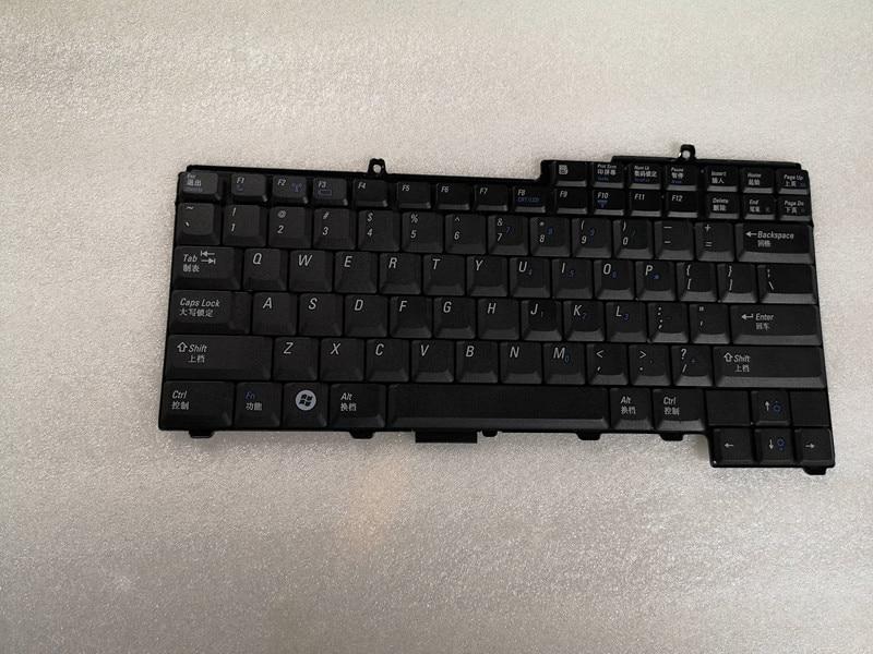 Nuevo teclado de EE.UU. para Dell Latitude D520 D530 reemplazo negro envío gratis