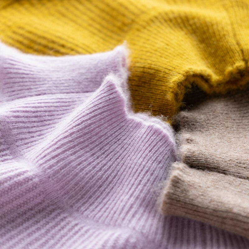 Women Sweaters 100% Pure Cashmere Knitting Pullovers Hot Sale Oneck Standard Long Sleeve Jumpers Female Knitwears enlarge