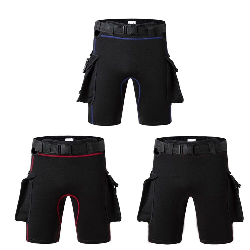 Погружные штаны с карманами для мужчин и женщин, погружные, с сумкой для ног, бандажные, утепленные, t-шорты для дайвинга