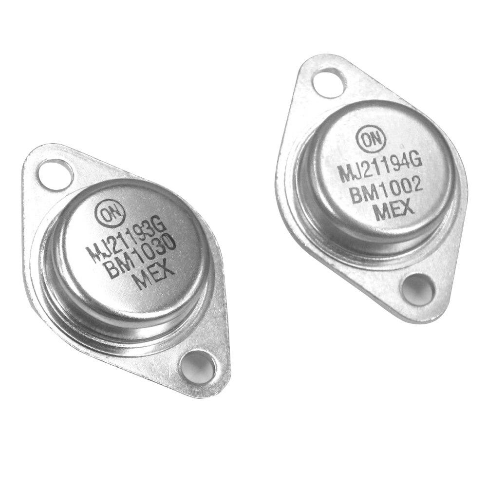 زوج أصلي على Anson US Gold Seal MJ21193G MJ21194G TO-3, 2 زوج أصلي على Anson US Gold Seal MJ21193G MJ21194G TO-3 darington ثنائي القطب صوت عالي الطاقة أنبوب شحن مجاني