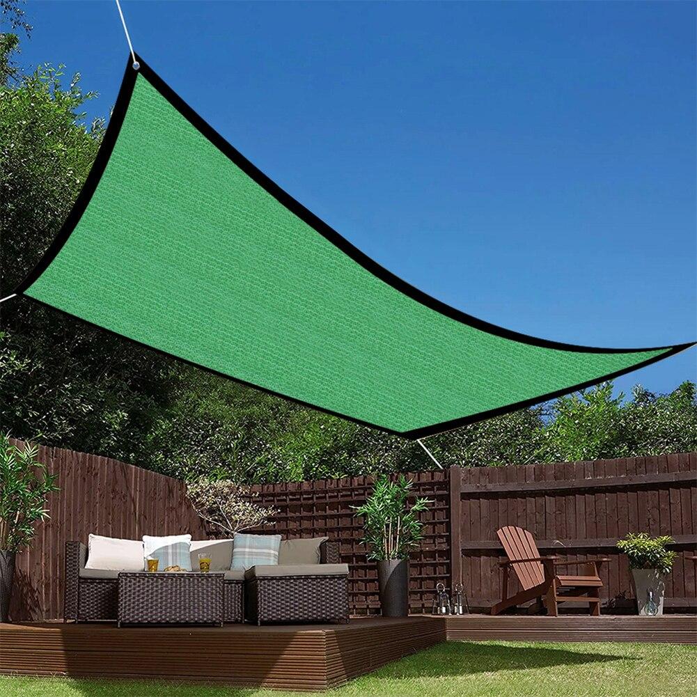 Утолщенный солнцезащитный козырек, сетка с защитой от УФ излучения, для наружного балкона, бассейна, садовых суккулентов, защитный забор