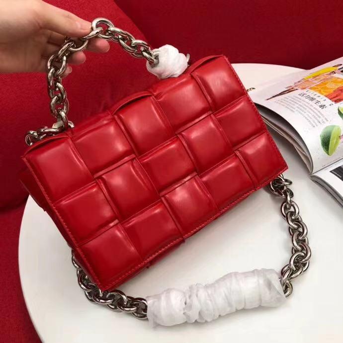 عالية الجودة حقائب الكتف واحد قطري حزام الكتف حقيبة السيدات طويلة وقصيرة حقيبة سلسلة سلسلة مزدوجة حقيبة يد الموضة