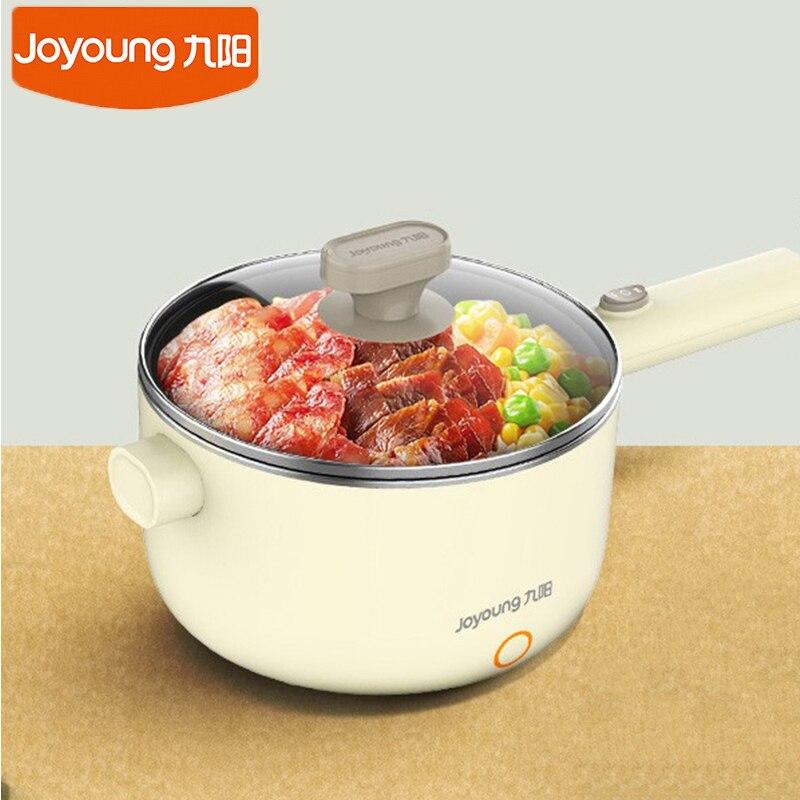 Joyoung G20 مقلاة كهربائية متعددة الوظائف المنزلية طباخ 1.5L سعة غير عصا غرفة 220 فولت تقلى الحساء إناء/ قدر صغير