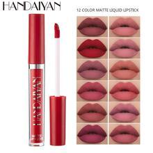 12 couleur liquide rouge à lèvres mat longue durée imperméable maquillage lèvre velours naturel hydratant brillant à lèvres imperméable mat TSLM2