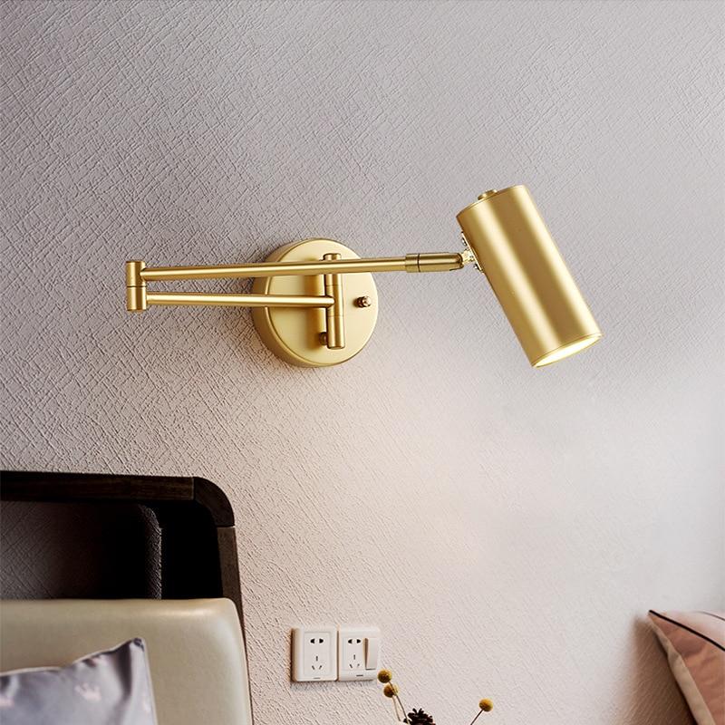 luminaria de parede estilo moderno minimalista e nordico decoracao para o quarto