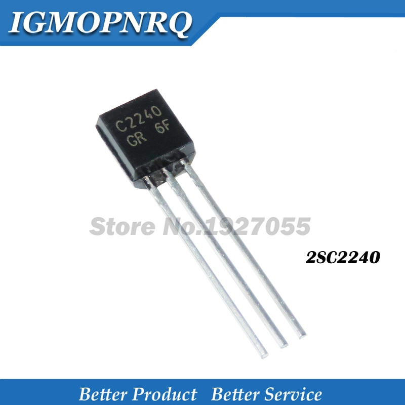 1000 unids/lote 2SC2240 a 92 C2240 TO92 triodo transistor nuevo original