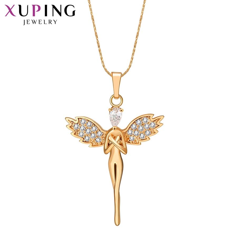 Xuping изысканное темпераментное модное ожерелье Подвеска для женщин мужчин массивные ювелирные изделия рождественские подарки S111,8-31455
