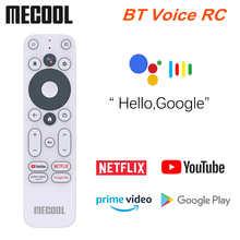Оригинальный Mecool KM2 голосовой пульт дистанционного управления Замена для KM2 Google Netflix 4K Сертифицированный голосовой ТВ-бокс Android