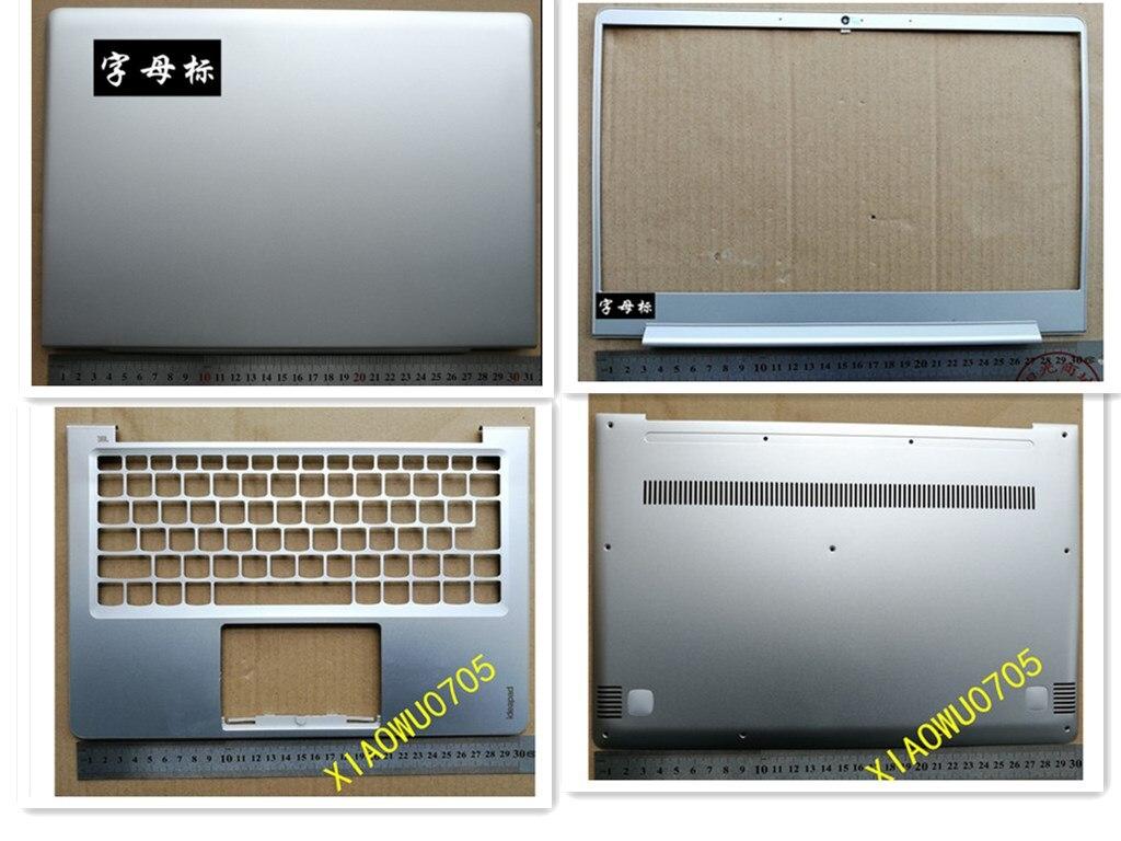 جديد محمول LCD الغطاء الخلفي/الجبهة الحافة/Palmrest/أسفل قاعدة غطاء لجهاز لينوفو ideapad 710S-13 710S-13IKB 710S-13ISK الفضة