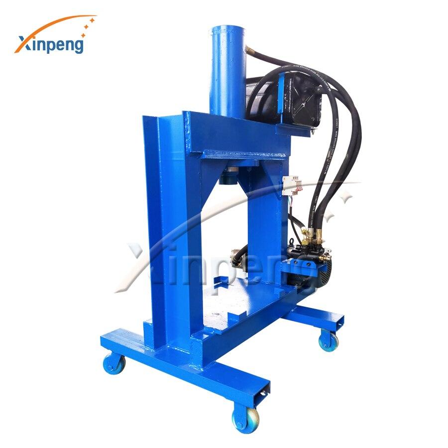 Xinpeng máquina de rotura de prensa hidráulica multifunción 30T para centro circular de prensa