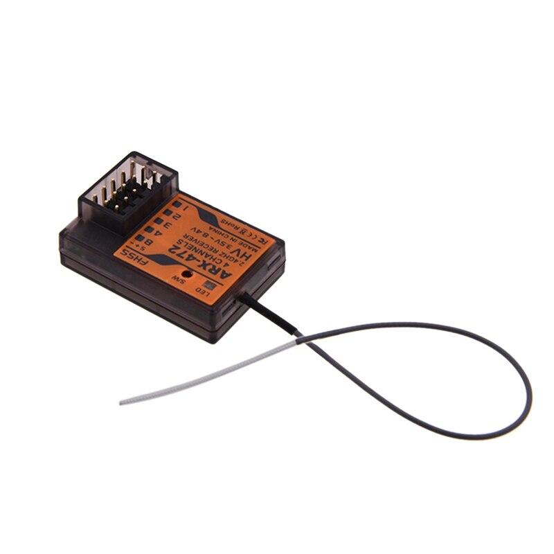 Receptor ARX-472 superficie de 4 canales Compatible con Sanwa FH3 FH4 para piezas de coche de carreras RC adecuado para M12, M11X, EXZES X, MT-4, GEMIN