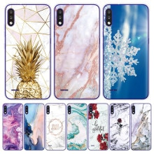 Phone Case for LG K22 6.2 inch Capa Silicon Transparent Back Cover For LG k42 K 42 Colored Cracked M