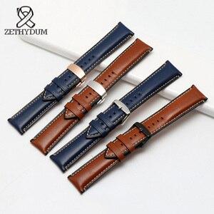 handmade leather bracelet for FTW1114/FS5151 Sport Quick Release latest charm leather bracelet Women Men Watch band 20 22 24mm