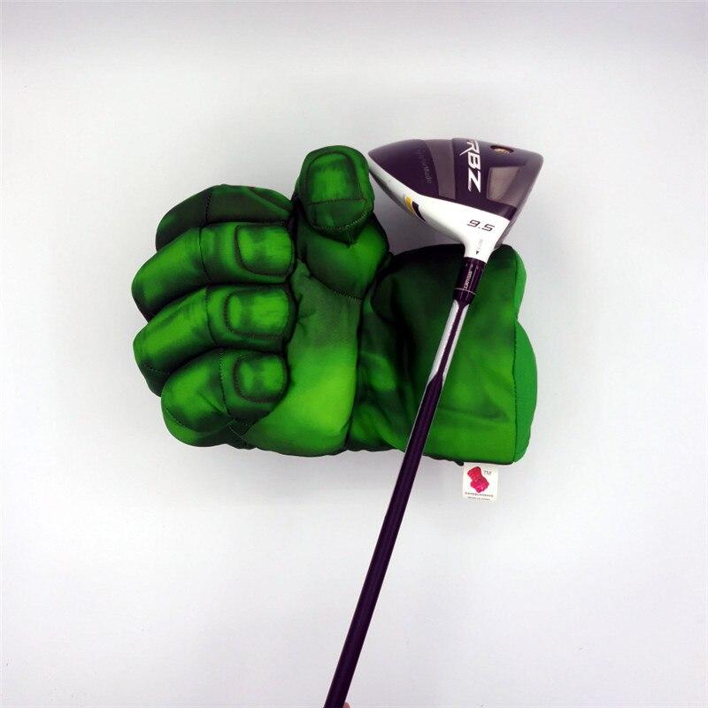 Green Hand The Fist Golf Driver Headcover 460cc boxeo Golf cubierta de madera Golf Club accesorios novedad gran regalo