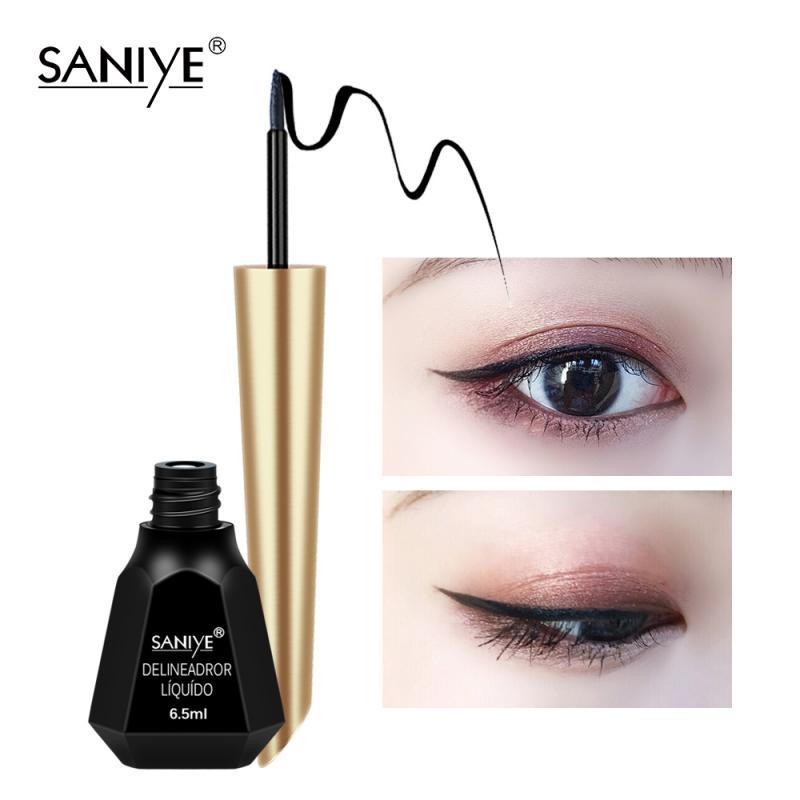 Professional Women Black Liquid Eyeliner Pencil Long-lasting Waterproof Sweatproof Quick-dry EyeLine