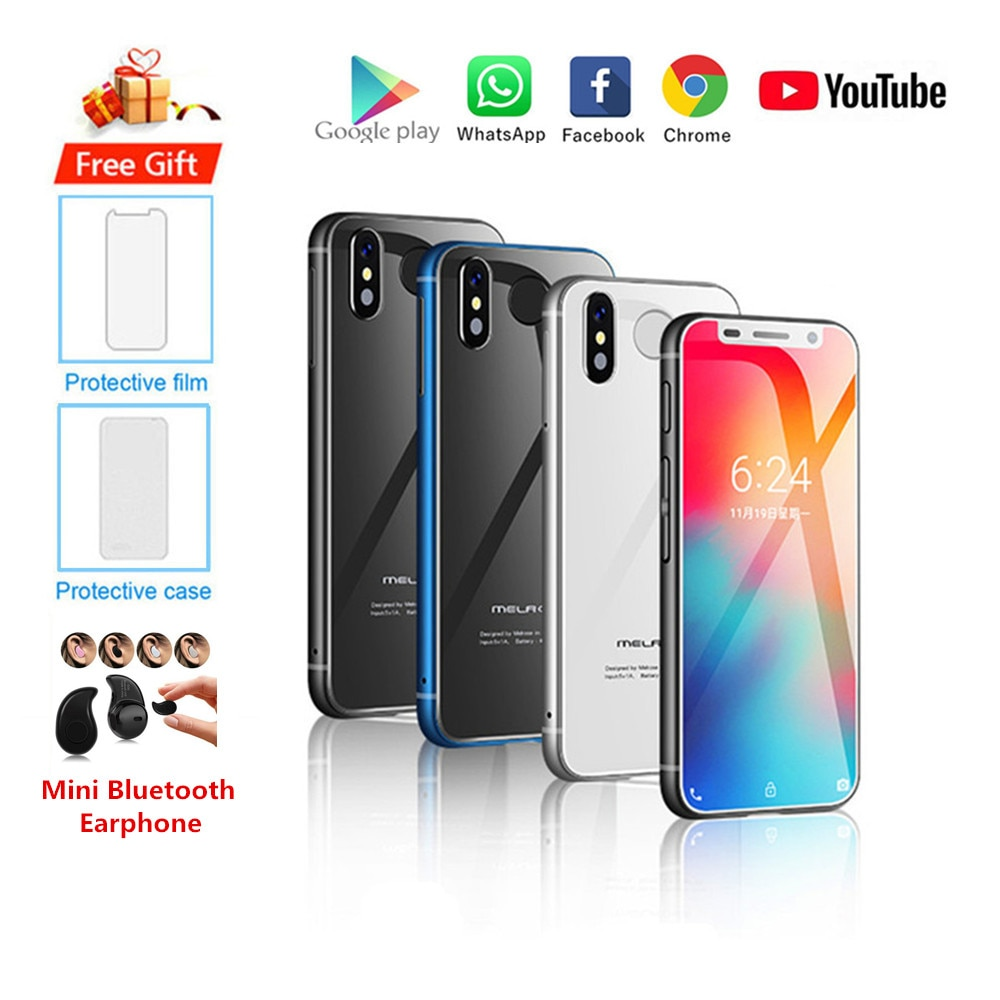 Original New Melrose 2019 Smartphone Android 8.1 4G LTE 3.4'' Super Mini 3GB 32GB Fingerprint Google Cellphone PK S9 K15