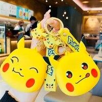 5 kinds pokemon coin purse keychain dolls toy pokemon pikachu kawaii action figure anime figure pokemon anime