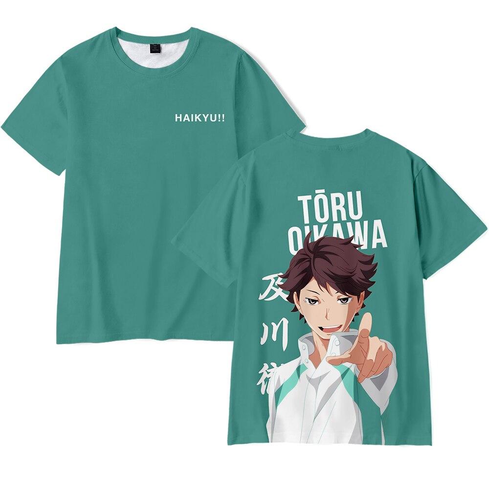 ¡2020 cómics 3D de verano caliente tee! Haikyuu-3D estampado animal camiseta casual...