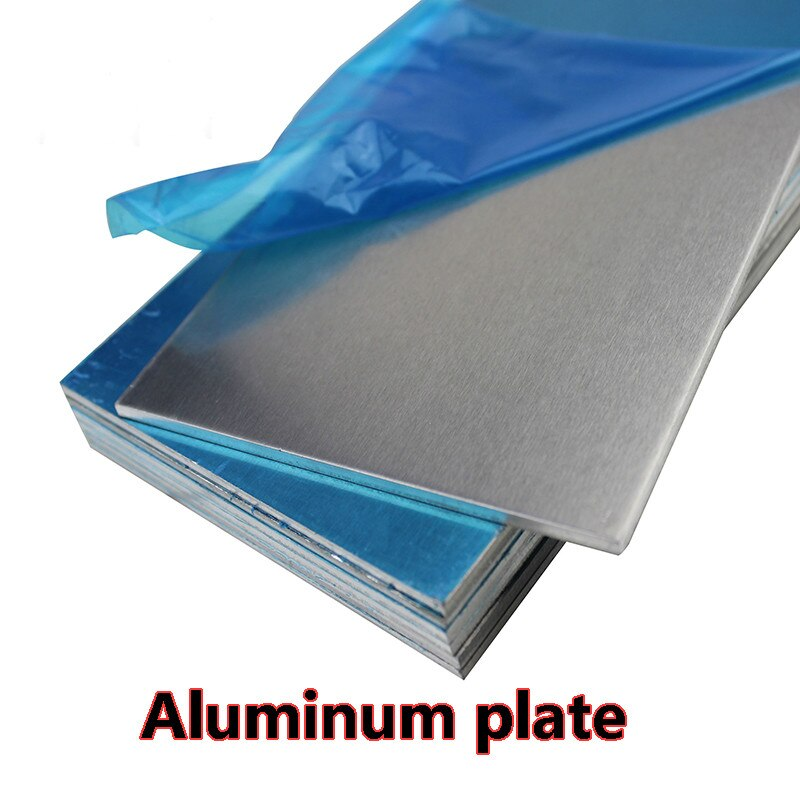 Placa de aluminio 5052 hoja de aluminio DIY grosor 15mm * 200mm * 400mm