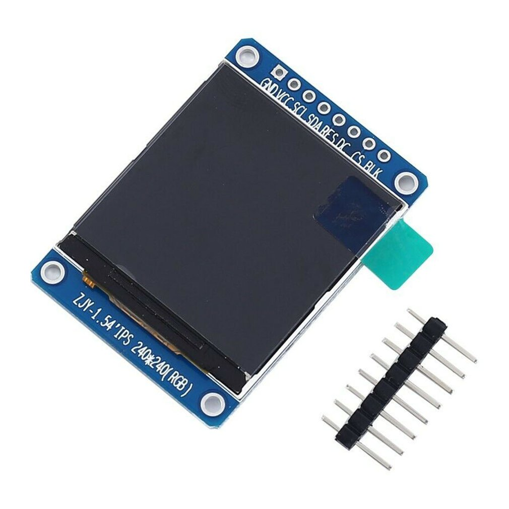 1 8 128x160 spi color tft lcd display screen module st7735s chip power supply 1.54 inch 1.54 LCD Digital Display Module 240x240 Full Color Screen TFT SPI Serial IPS LCD Liquid Crystal Screen Board 240*240