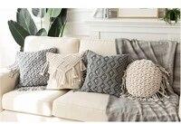macrame cushion cover boho pillowcase handmade macrame cushion cover colorfu macrame geometry bohemia ethnic pillow cover