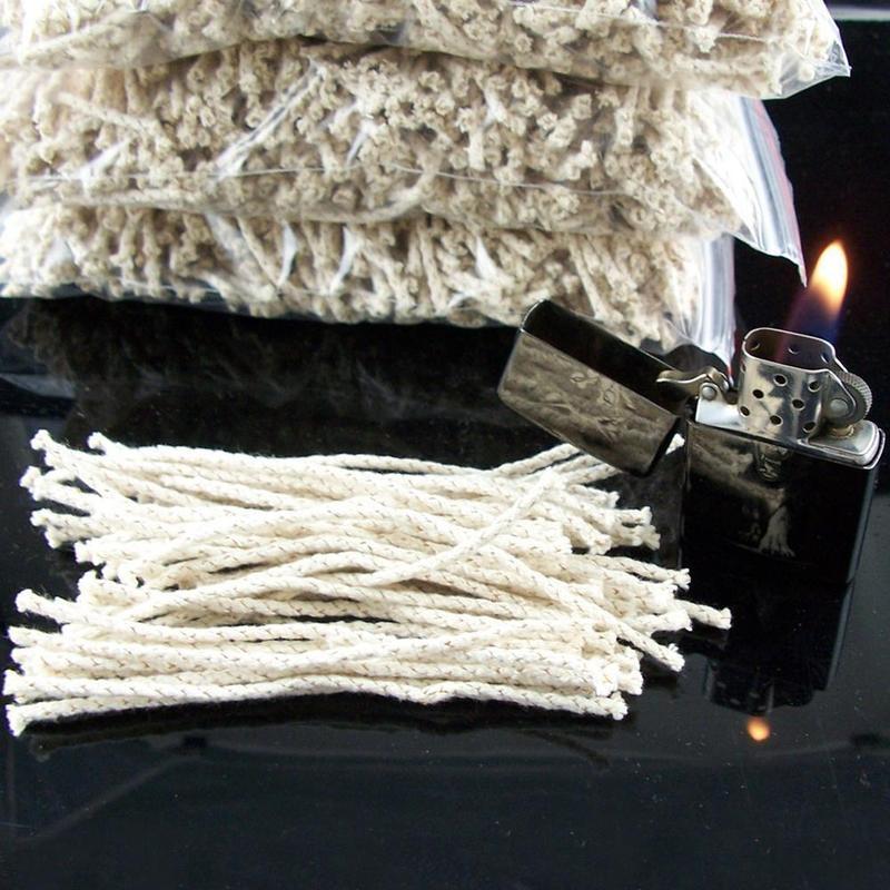 Wholesale Kerosene Lighter Universal Cotton Core Lighter Accessories Alcohol Lamp Wick Factory Outlet Customizable