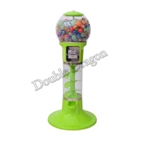 new coin operated slot machine vending machine for toys vending cabinet chewing gum arcade candy vendor big capsule