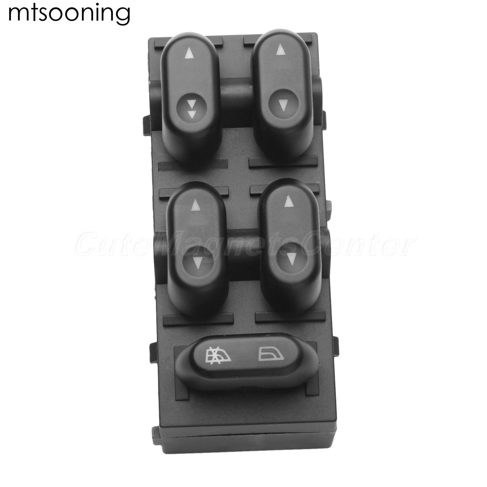 Interruptor principal de ventana eléctrica frontal LH, 5L1Z14529AA, para Ford F150, Crown, Victoria, Lobo, Mercury, 5L1Z-14529-AA