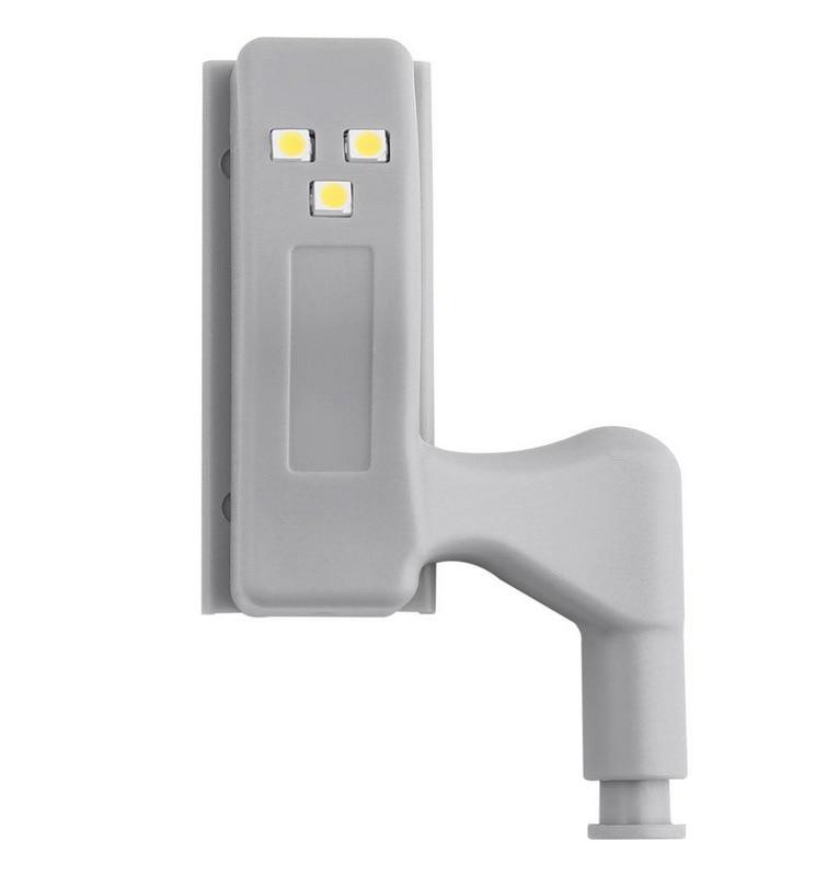 LED Under Cabinet Light Universal Wardrobe Light Sensor Led Armario Inner Hinge Lamp For Cupboard Closet Kitchen Night Light