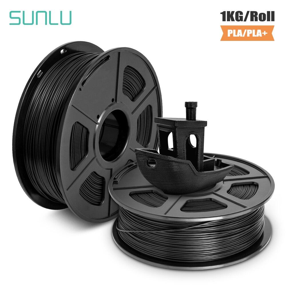Material de Impressão Atualização de Filamentos 3d + Filamento Sunlu Mais Filamento – 1kg 3d Navio Livre Novo Edição Pla 1.75m