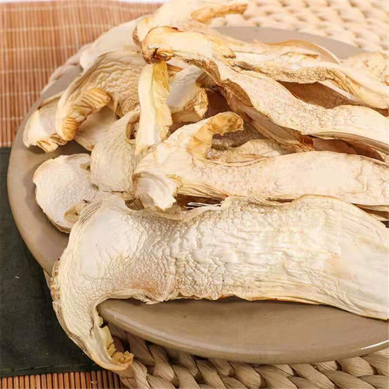 Wild dried matsutake slices Chinese specialty