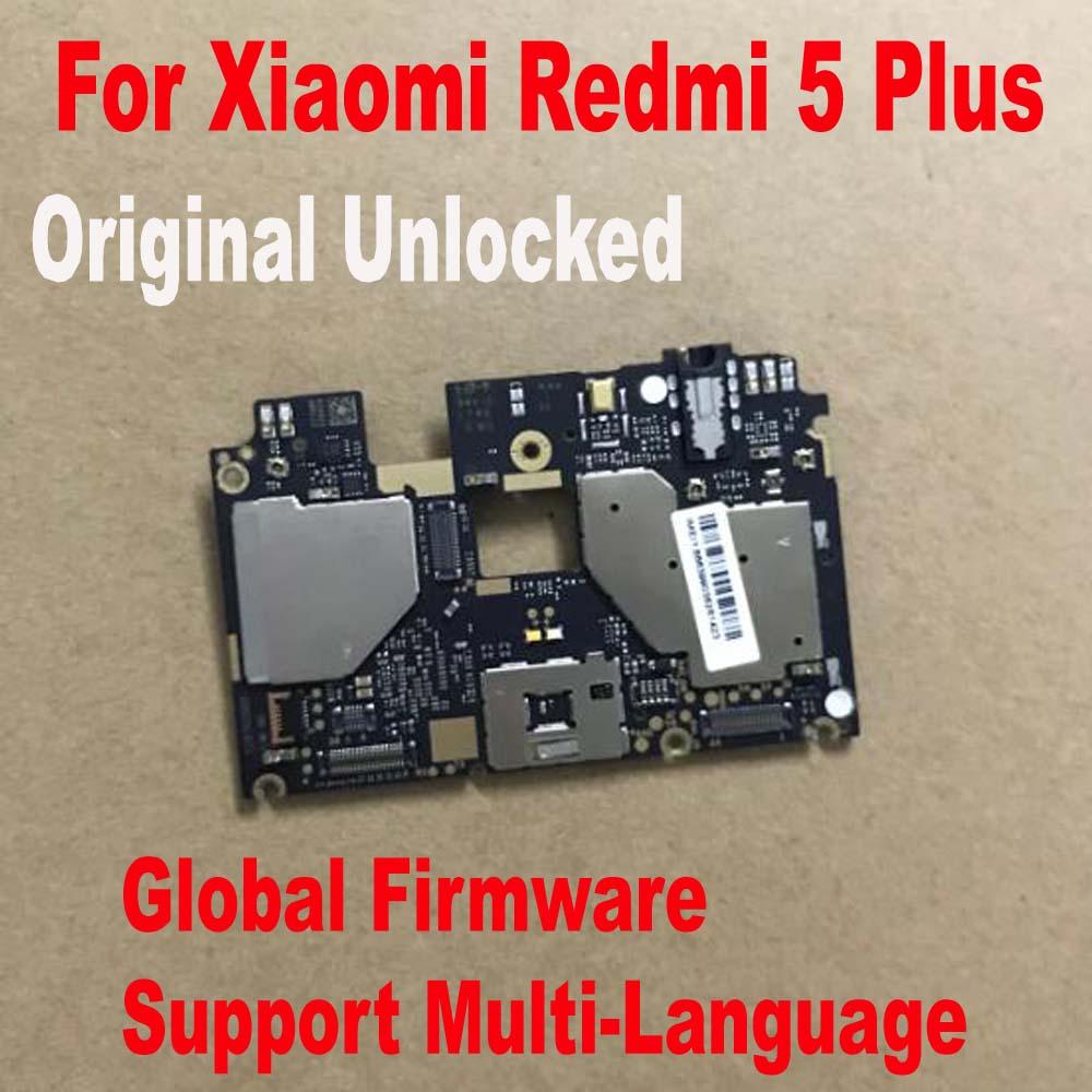 لوحة أساسية لـ Xiaomi Redmi 5 Plus Hongmi 5 Plus ، لوحة أساسية أصلية مع برنامج تشغيل عالمي ، كابل مرن
