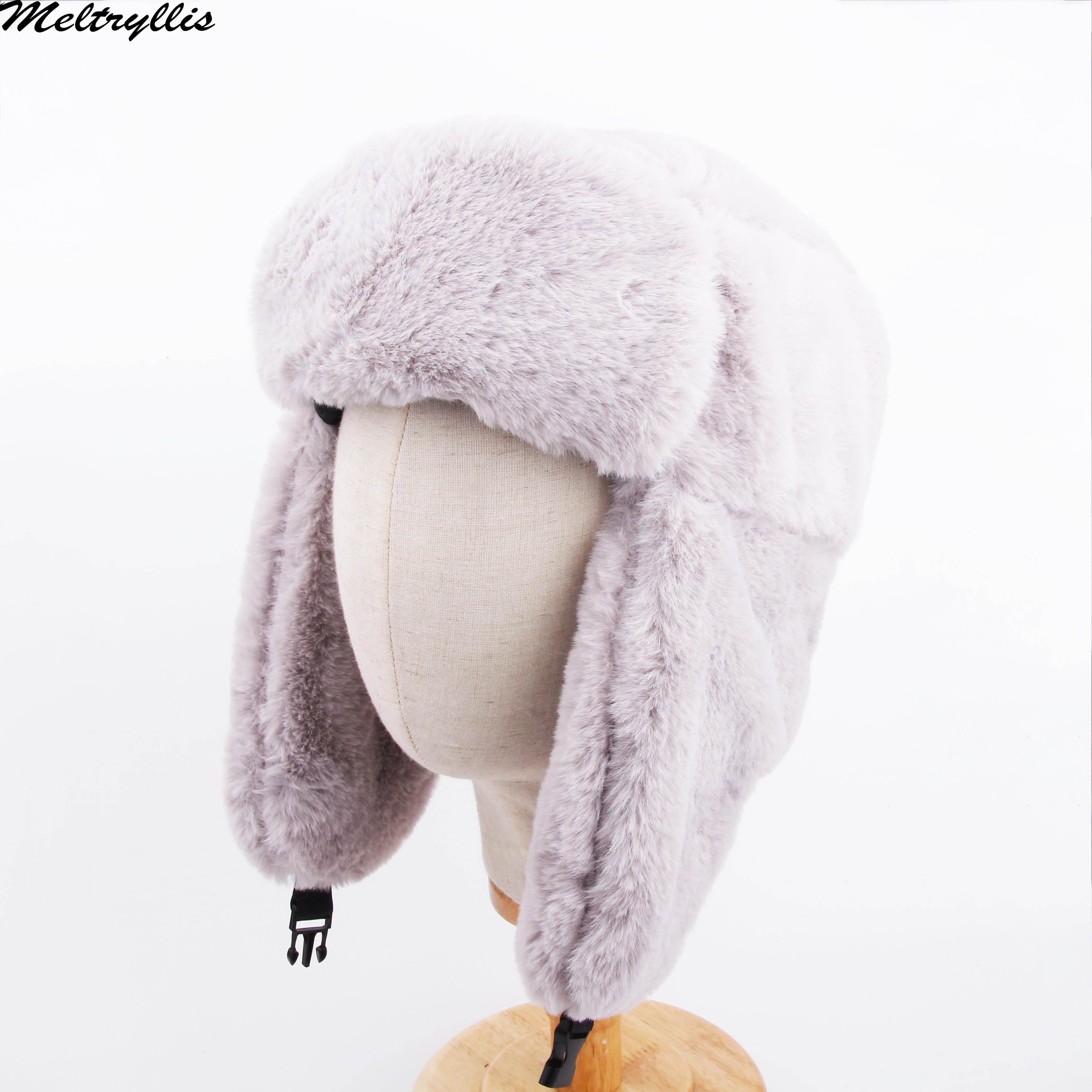 [Meltryllis] зимняя Лыжная шапка теплые наушники утолщенная с ушками для мужчин и