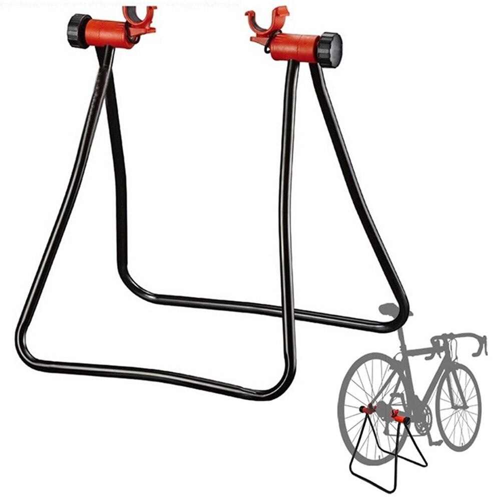 Металлическая Регулируемая подставка для ремонта велосипедной ступицы горные велосипеды аксессуары для велосипедной стойки