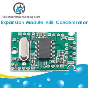 USB2.0 Expansion Module HUB Concentrator 1 Minute 4 1 Drag 4 Interface Transfer Development Board Drive-Free