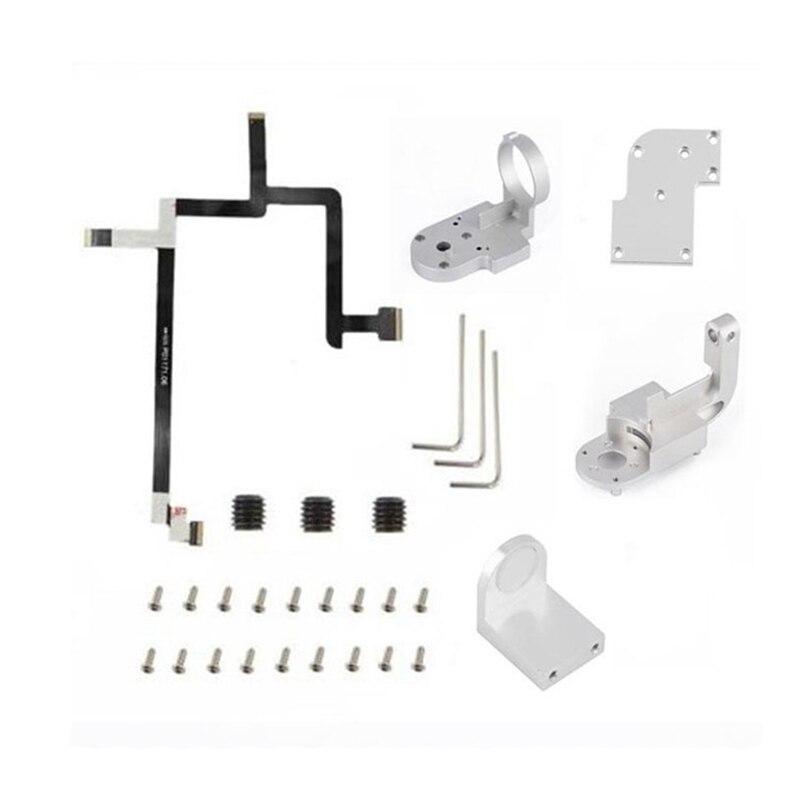 Soporte para brazo DJI Phantom 3 SE Yaw, soporte para brazo, Cable flexible, placa de reparación, accesorios para drones de reparación, eje PTZ P/R superior e inferior