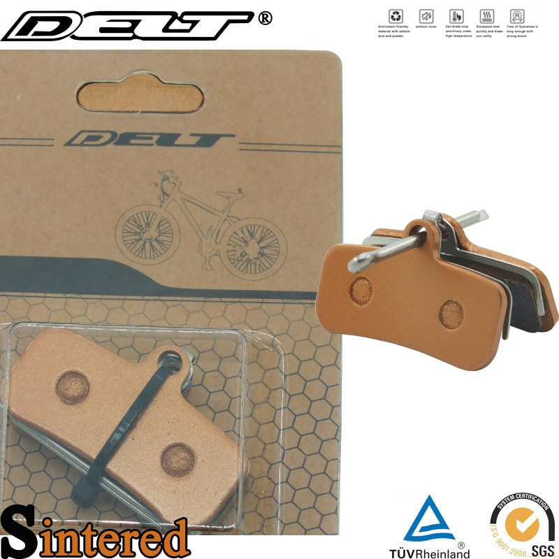 2 par mountain mtb bicicleta sinterizada pastilhas de freio a disco pino para shimano saint m810 m820 zee m640 h01 acessórios