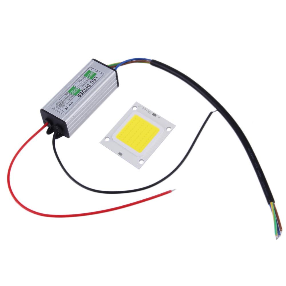 Bombilla SMD de Chips LED integrada impermeable de alta potencia de 30W para lámpara de foco de luz blanca cálida con controlador de LED