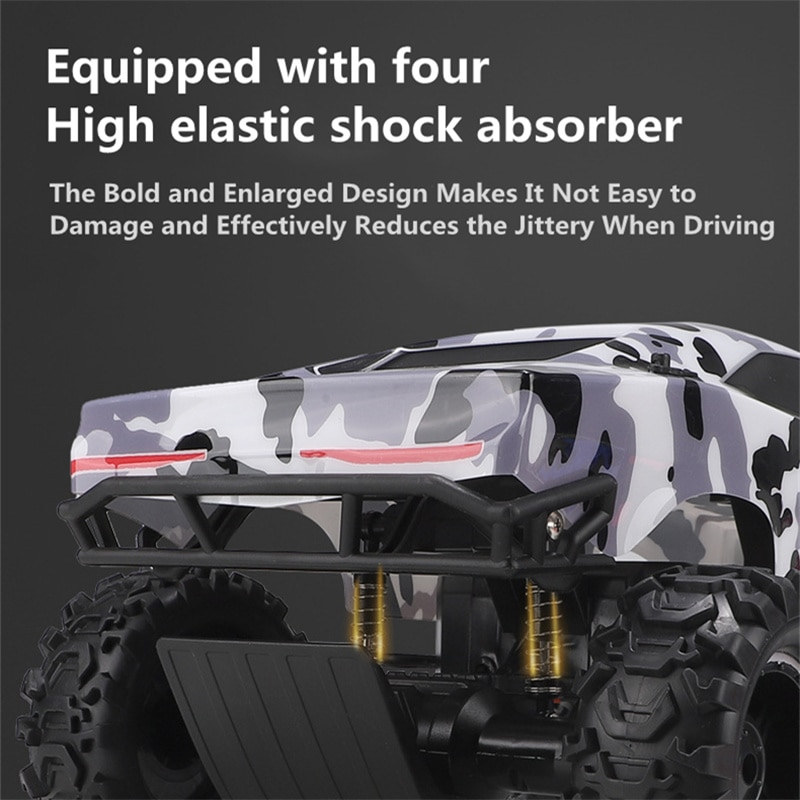 4WD Independent Shock Absorbers RC Car 1:10 Large Size 100M Range 30Min Endure All-terrain Off-road Children Remote Control Toy enlarge
